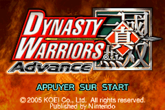 Dynasty Warriors Adv…