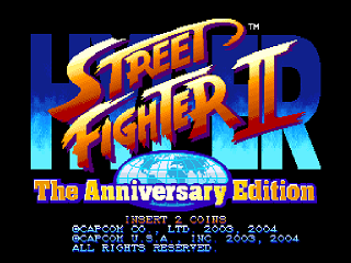Hyper Street Fighter 2-The Anniversary Edition