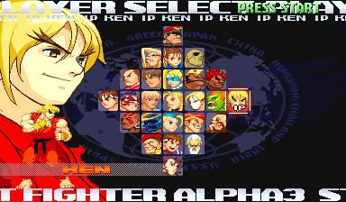 Street Fighter Alpha…