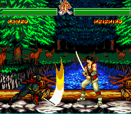 Soul Edge vs Samurai…