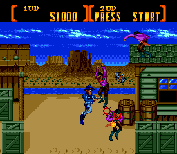 Sunset Riders Oyna (SEGA)