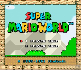 Süper Mario World Oy…