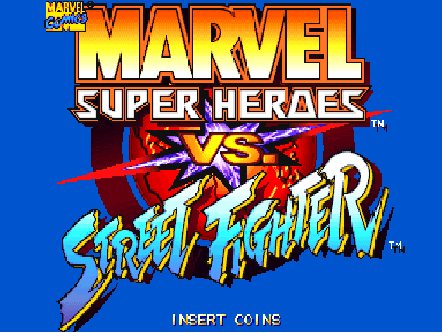 Marvel Super Heroes vs Street Fighter