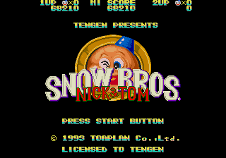 Snow Bros Nick and T…